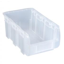 Cutie organizare/depozitare transparenta, 210x350x150 mm