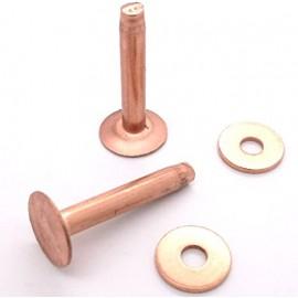 Nituri cupru lungime 25mm, diametru 9mm