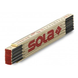 Metru pliabil lemn H 2.4/12, SOLA