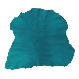 CAM 6 Piele camoscio pentru proiecte mici, verde-albastru
