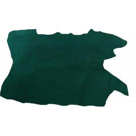 STR 2 Piele stretch pentru proiecte mici, verde inchis