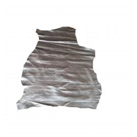 NAP 04 Piele Nappa pentru proiecte mici, gri metalizat