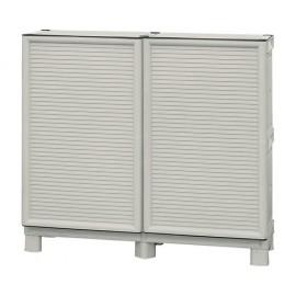 Dulap utilitar plastic 2 uși, Concert 1000x390x920 mm, cu 1 poliță