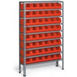 A.R. 03 Raft cutii organizare / depozitare piese
