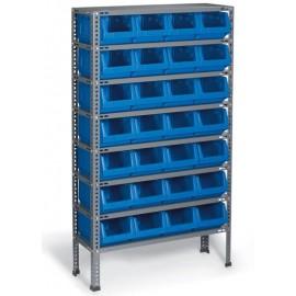 A.R. 04 Raft cutii organizare / depozitare piese