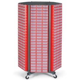 CKM. 30 Stand mobil cutii organizare / depozitare piese