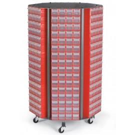 CKM. 40 Stand mobil cutii organizare / depozitare piese