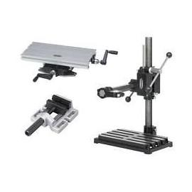 24416 Set stand gaurire/frezare 500/350mm si masa frezare si menghina fixare
