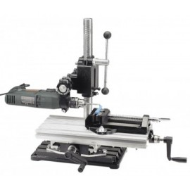 24512 Stand gaurire/frezare 750/500mm, clema fixare si menghina