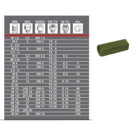 Proxxon 23343 - Surubelnita dinamometrica 0.4-2Nm MC2