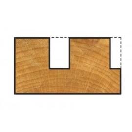 Freza canal pentru lemn,diametru taiere Ø 6mm, Wolfcraft