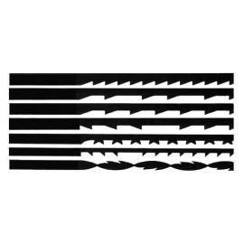 HOB PTS 180 Set combinat panze traforaj pt lemn, spiralate si drepte