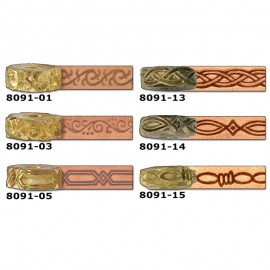 8091-03 Disc embosare margini piele.