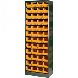 1103/190 Dulap 48 cutii depozitare, 638x291x1900mm
