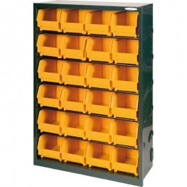 1103/95 Dulap 24 cutii depozitare, 675x205x950mm