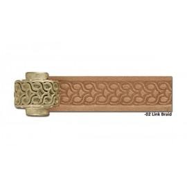 8092-01 Rola scula cu rola embosat pielarie Crafttool Pro
