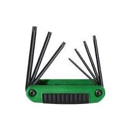 25570 Set chei imbus de tip briceag, cu profil TORX® TX10-TX40/7 piese